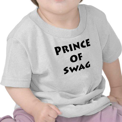 Prince of Swag Tee Shirts
