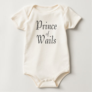 Prince of Wails Baby Bodysuit