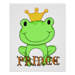Prince Print de grenouille Posters