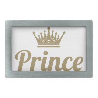 Prince Rectangular Belt Buckle