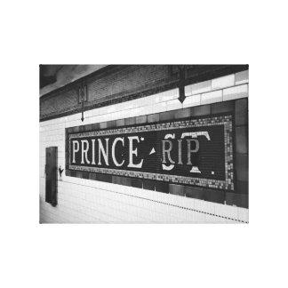 Prince (RIP) Canvas Print