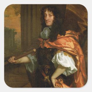 Prince Rupert (1619-82), c.1666-71 (huile sur la Sticker Carré