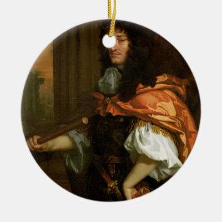 Prince Rupert (1619-82), c.1666-71 (huile sur la Ornement Rond En Céramique