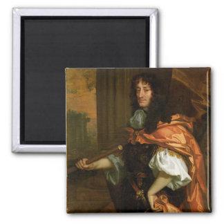 Prince Rupert (1619-82), c.1666-71 (huile sur la t Magnet Carré