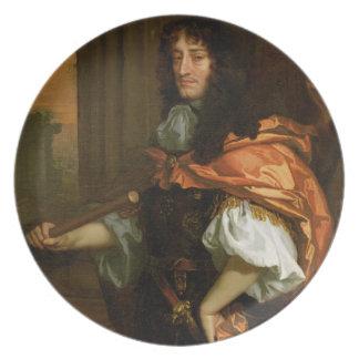 Prince Rupert (1619-82), c.1666-71 (huile sur la t Assiette Pour Soirée