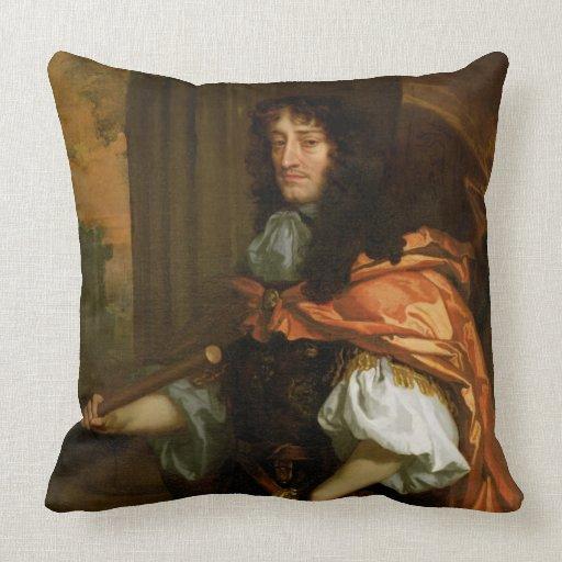 Prince Rupert (1619-82), c.1666-71 (huile sur la t Oreiller