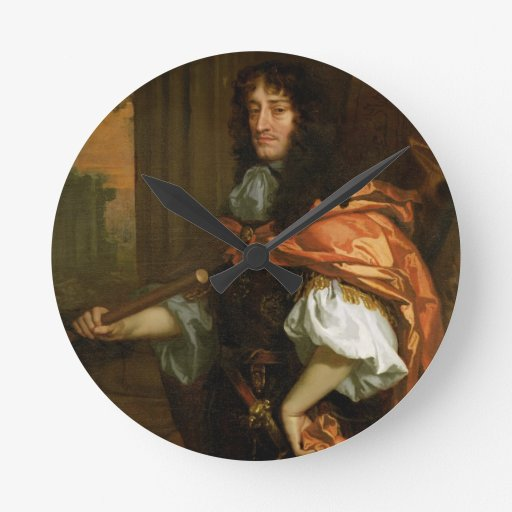 Prince Rupert (1619-82), c.1666-71 (huile sur la t Pendules Murales