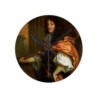 Prince Rupert (1619-82), c.1666-71 (huile sur la t Horloge Ronde