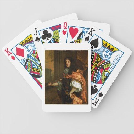 Prince Rupert (1619-82), c.1666-71 (huile sur la t Cartes À Jouer