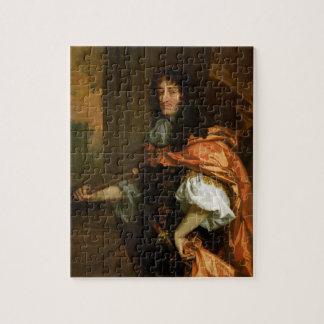 Prince Rupert (1619-82), c.1666-71 (huile sur la t Puzzle