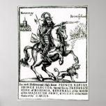 Prince Rupert on Horseback Print