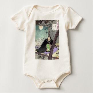 Prince Semimaru - Yoshitoshi Taiso - 1880 - woodcu Baby Bodysuit