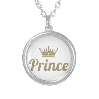 Prince Silver Plated Necklace