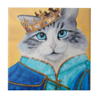 Prince Sully the Kitty Tile