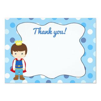 Prince Thank You Card Blank