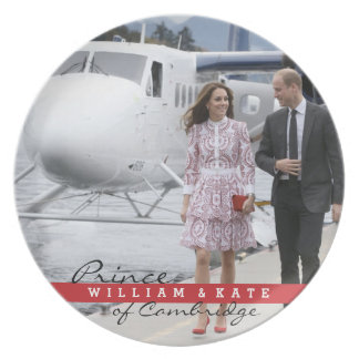 Prince William and Catherine Plate