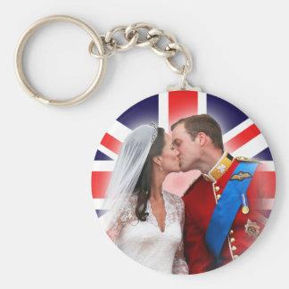 Prince William et porte - clé royal de mariage de Porte-clé Rond