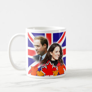 Prince William & Kate Canada Mug