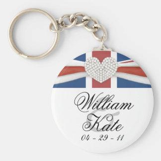 Prince William & Kate - Royal Wedding Souvenir Keychain