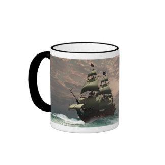 Prince William Ship Cup Coffee Mugs