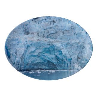 Prince William Sound Glacier Porcelain Serving Platter