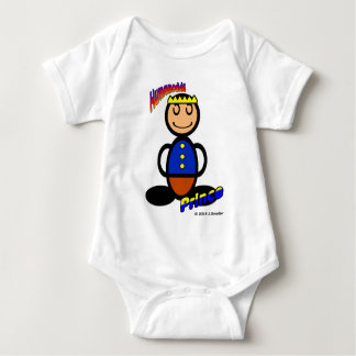 Prince (with logos) baby bodysuit