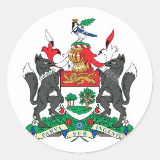 princeedward, Canada Round Sticker