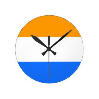 Prince's Flag Round Clock