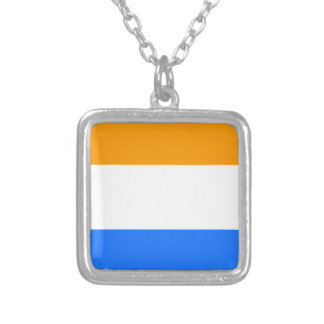 Prince's Flag Silver Plated Necklace