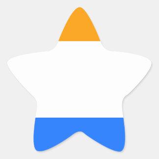 Prince's Flag Star Sticker