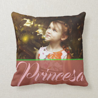 Princesa almohada throw pillow
