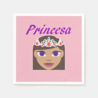 Princesa (Princess) Paper Napkin