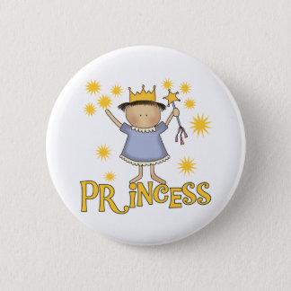 Princess 2 Inch Round Button