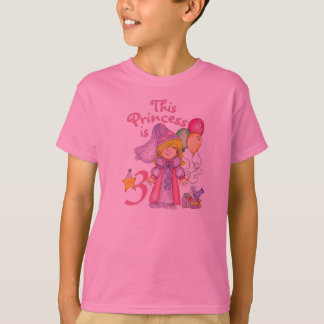 Princess 3rd Birthday T-Shirt