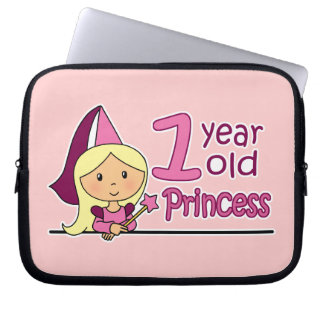 Princess Age 1 Laptop Computer Sleeves