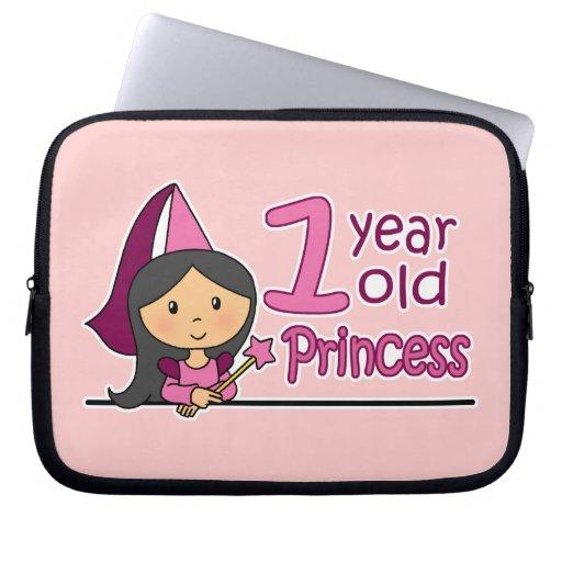 Princess Age 1 Computer Sleeve