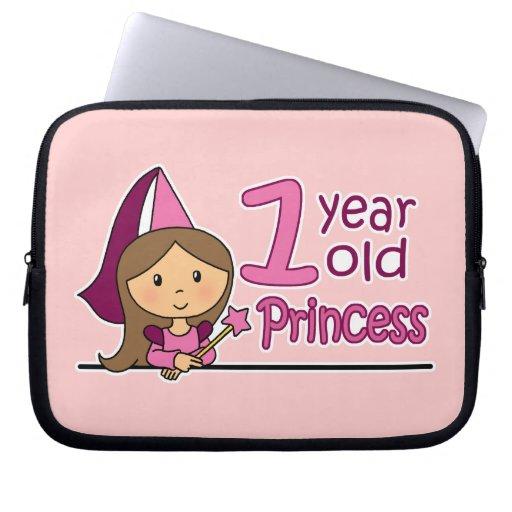 Princess Age 1 Computer Sleeves