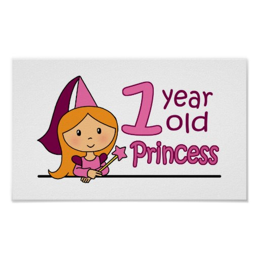 Princess Age 1 Posters