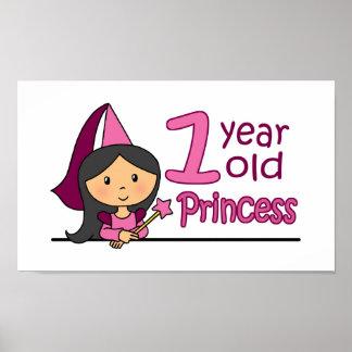 Princess Age 1 Print
