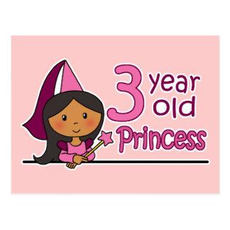 Princess Age 3 Post Cards