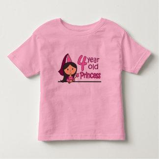 Princess Age 4 Toddler T-shirt