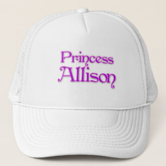 Princess Allison Trucker Hat