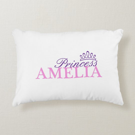 "Princess ""Amelia"" Pillow"