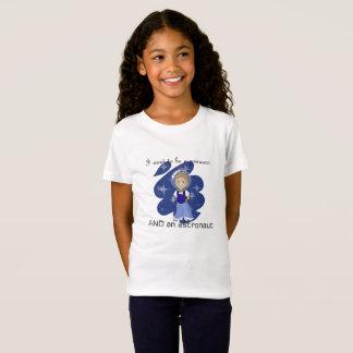 princess and astronaut t-shirt - medium