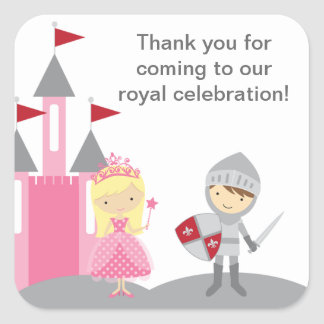 Princess and Knight Stickers