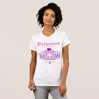 Princess and Poor Shirt - Pink Tiara