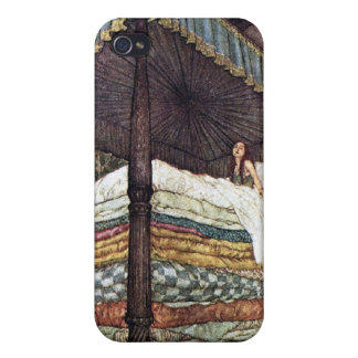 Princess and the Pea Fairy Tale 4S  iPhone 4 Cover