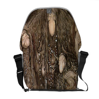 Princess and Trolls by John Bauer Courier Bag