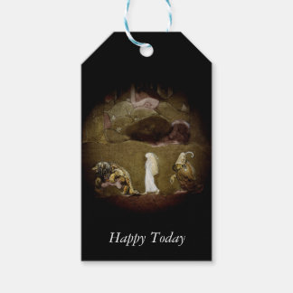 Princess and Trolls Walking Through Forest Pack Of Gift Tags