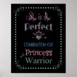 Princess and Warrior Poster
